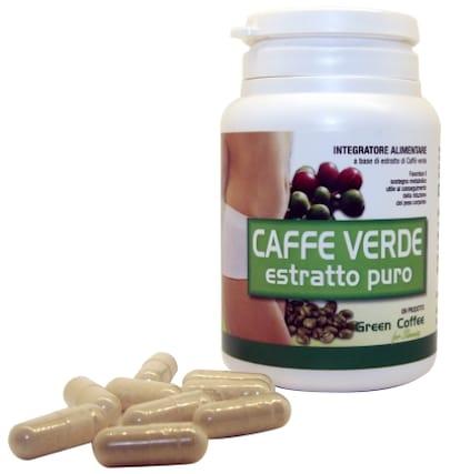 capsule di caffè verde
