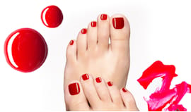 Pedicure beauty planet