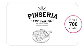 Pinseria tre farine card