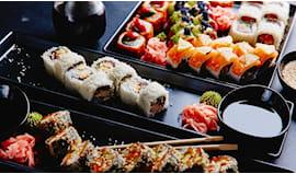 Sushi 40 pz asporto liang