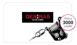 Denimar tattoo card
