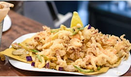 Omaggio menù comp. pesce