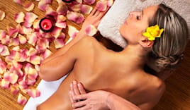 Flower massage