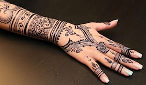 Tatuaggio henné mani