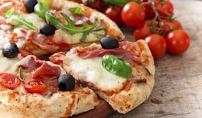 Menu pizza completo