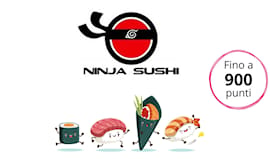 Ninja sushi shopping card