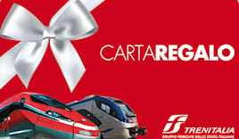 Trenitalia shopping card