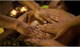 Massaggio a 4 mani druidi