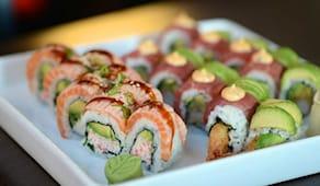 Pranzo ryugin sushi