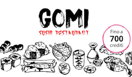 Gomi sushi shopping card