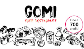Gomi sushi shopping card
