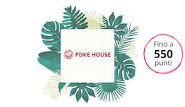 Poke house shopping card