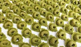 Tortellini pasta verde