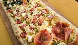 Pizza mezzo metro 2 gusti