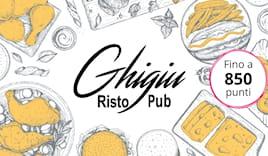 Ghigiù shopping card