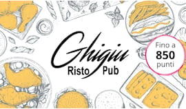 Ghigiù shopping card