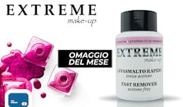 Extreme make-up shop card
