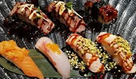 Menù momo sushi x2