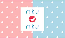 Niku niku shopping card