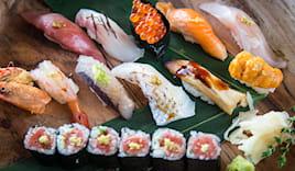 Sushi long bistrot x2