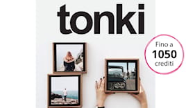 Tonki shopping card