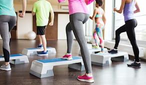 Mensile step workout