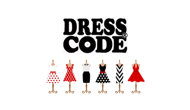 SHOPPING CARD DRESS CODE