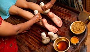 Massaggio piedi e viso ⚫