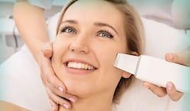Massaggio viso ultrasuoni