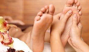 Padaabhyanga massaggio