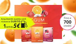 C-gum shopping card