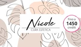 Nicole estetica shop card