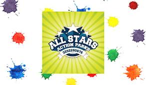 All stars shopping card