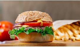 Menù hamburger