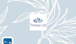 Therapy lab shopping card