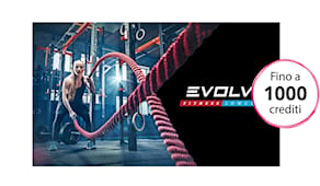 Evolve fitness shop card