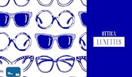 Ottica lunettes shop card