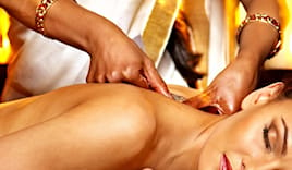Massaggio ayurvedico a pr