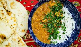 Menù indiano da asporto