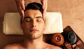1 massaggio viso uomo