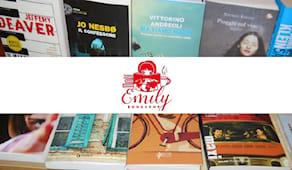 Emily bookshop shop card