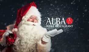 Cena festivi alba sushi