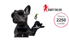 Andy tailor shopping card