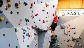 1 lezione arrampicata x1