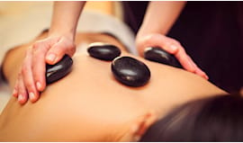 Hot stone massage 50'