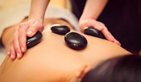 Hot stone massage 50'