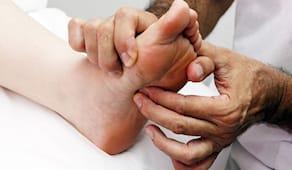 Riflessologia piedi