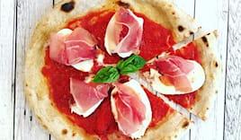 Pizza tonda gourmet