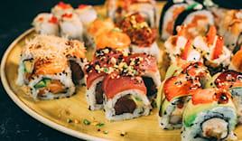Asporto 40pz sushi corner