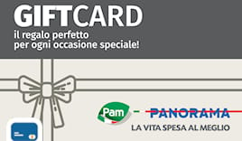 Pam panorama shop card